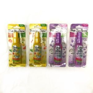 Other - Lot of 4 Poo Be Gone Toilet Spray